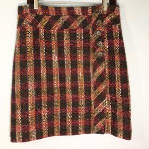 Ann Taylor LOFT Tweed Pencil Skirt